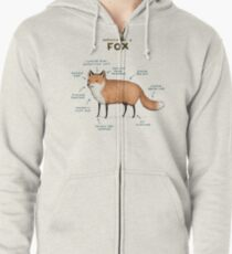 Anatomy of a Fox Zipped Hoodie