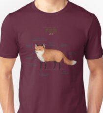 Anatomy of a Fox T-Shirt