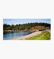 Esquimalt Lagoon, Canada Photographic Print