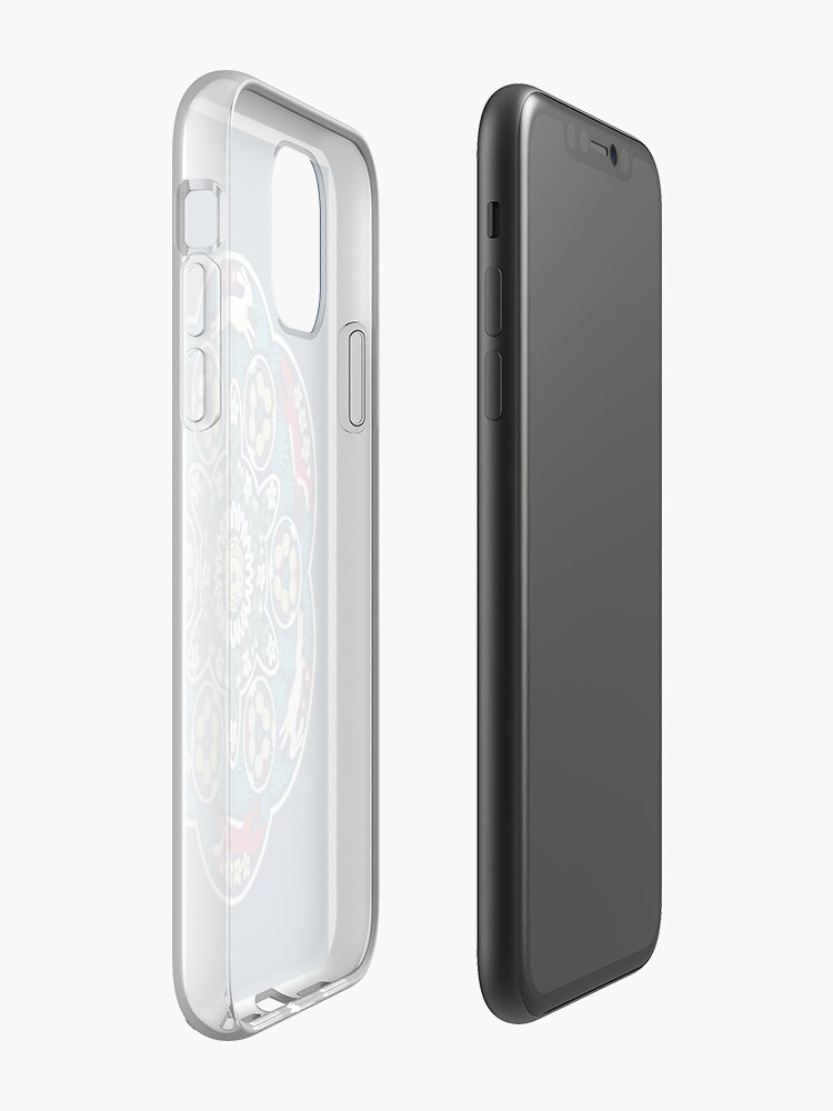 Alternate view of Hare and Fox iPhone Case & Cover