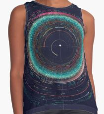 An Asteroid Map of the Solar System Sleeveless Top