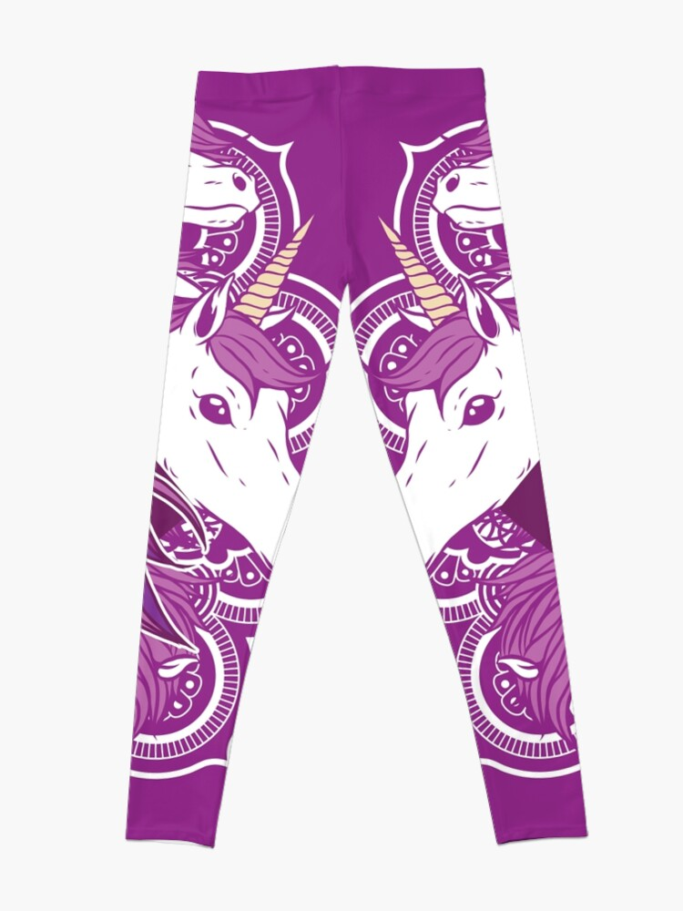 Alternate view of Unicorn Mandala Leggings