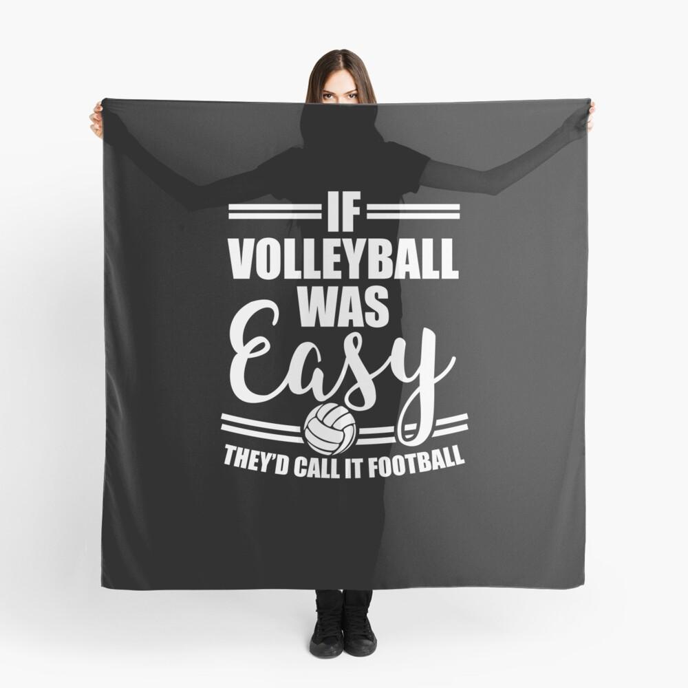 Volleyball Sport T-Shirt Team Geschenkidee Tuch