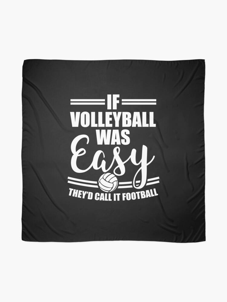 Alternative Ansicht von Volleyball Sport T-Shirt Team Geschenkidee Tuch