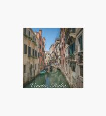 Canal Views of Venice Art Board Print