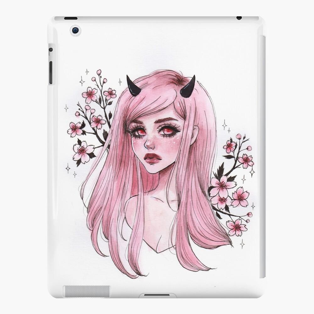 Sakura oni iPad-Hülle & Skin