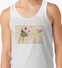 Colourful Thistle Mosaic  Tank Top