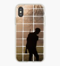 Remembrance Tribute - Soldier -  Going Down of the Sun iPhone Case