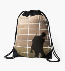 Remembrance Tribute - Soldier -  Going Down of the Sun Drawstring Bag