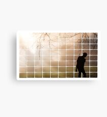 Remembrance Tribute - Soldier -  Going Down of the Sun Canvas Print