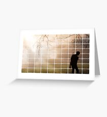 Remembrance Tribute - Soldier -  Going Down of the Sun Greeting Card
