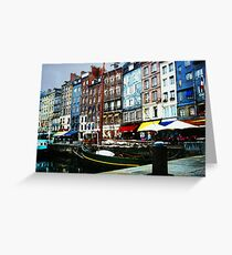 Honfleur - Normandy - Le Vieux Bassin Greeting Card