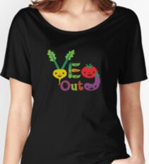 Veg Out Deux - on darks Women's Relaxed Fit T-Shirt