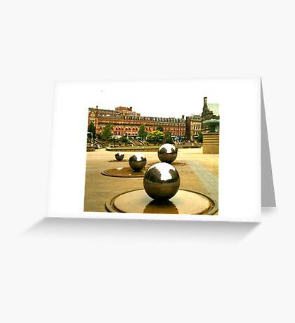 Peace Garden, Sheffield Greeting Card