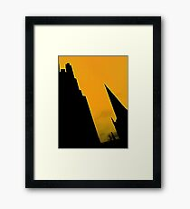 Sheffield Cathedral Spire Framed Print