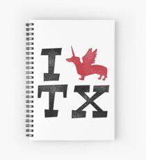 I DOXIE TEXAS Spiral Notebook