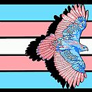 Trans flag tobias von Kiluvi