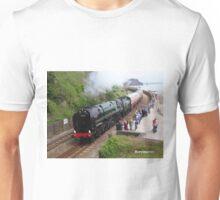 British Railways 70000 'Britannia' at Teignmouth Unisex T-Shirt