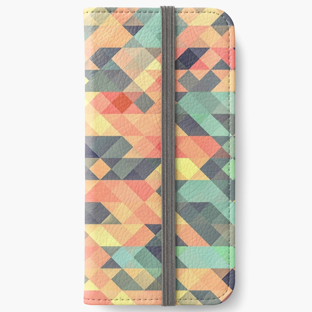 Abstract Geometry iPhone Wallet
