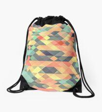Abstract Geometry Drawstring Bag