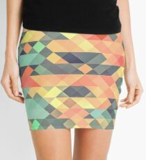 Abstract Geometry Mini Skirt