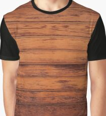 Wooden Boards - Realistic Elements Graphic T-Shirt