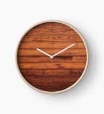Wooden Boards - Realistic Elements Clock