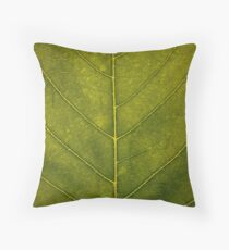 Leaf - HD Nature Throw Pillow