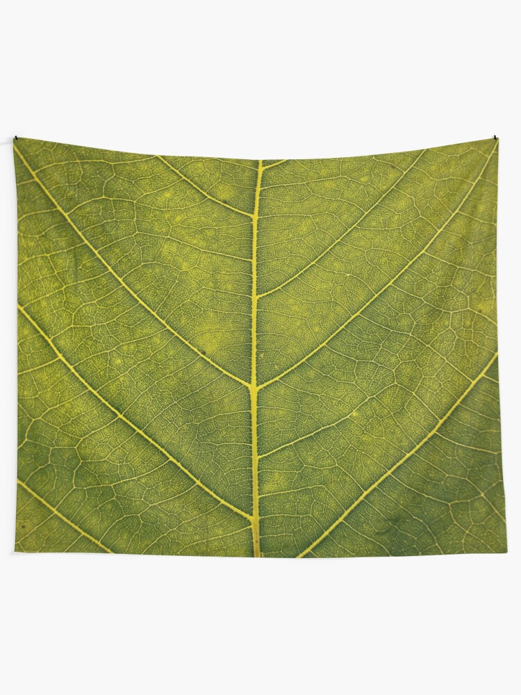 Alternate view of Leaf - HD Nature Wall Tapestry