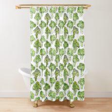 Broccoli - Formal Shower Curtain