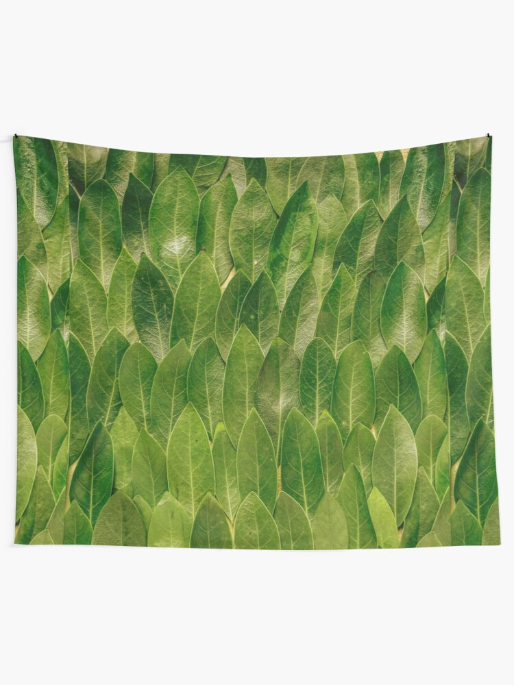 Alternate view of Leaves - Nature Wall Tapestry