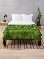 Leaves - Nature Throw Blanket
