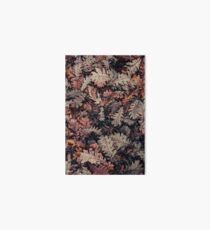 Dried Autumn Leaves - HD Nature Art Board Print