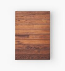 Wooden Boards - Realistic Elements Hardcover Journal