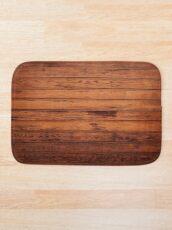 Wooden Boards - Realistic Elements Bath Mat