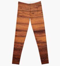Wooden Boards - Realistic Elements Leggings