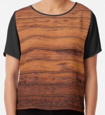 Wooden Boards - Realistic Elements Chiffon Top
