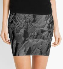 Black Rocks - Nature Elements Mini Skirt