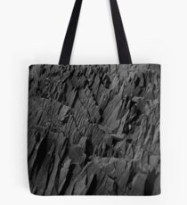 Black Rocks - Nature Elements Tote Bag