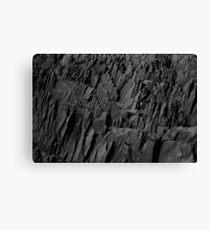 Black Rocks - Nature Elements Canvas Print
