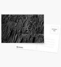Black Rocks - Nature Elements Postcards