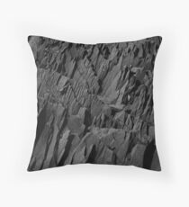 Black Rocks - Nature Elements Floor Pillow