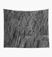 Black Rocks - Nature Elements Wall Tapestry