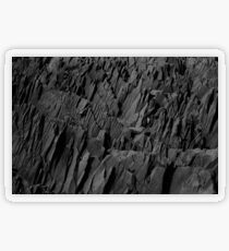 Black Rocks - Nature Elements Transparent Sticker