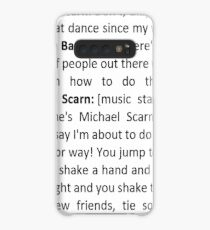 Michael Scarn Threat Level Midnight Script Insert My Strange Addiction Case/Skin for Samsung Galaxy