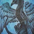 Raven Dragon  by WaterRaven