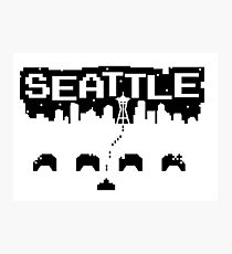 8-BITS OF SEATTLE Photographic Print