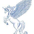 Unicorn Pegasus  by WaterRaven