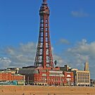 Blackpool Tower, May 2019 by RedHillDigital