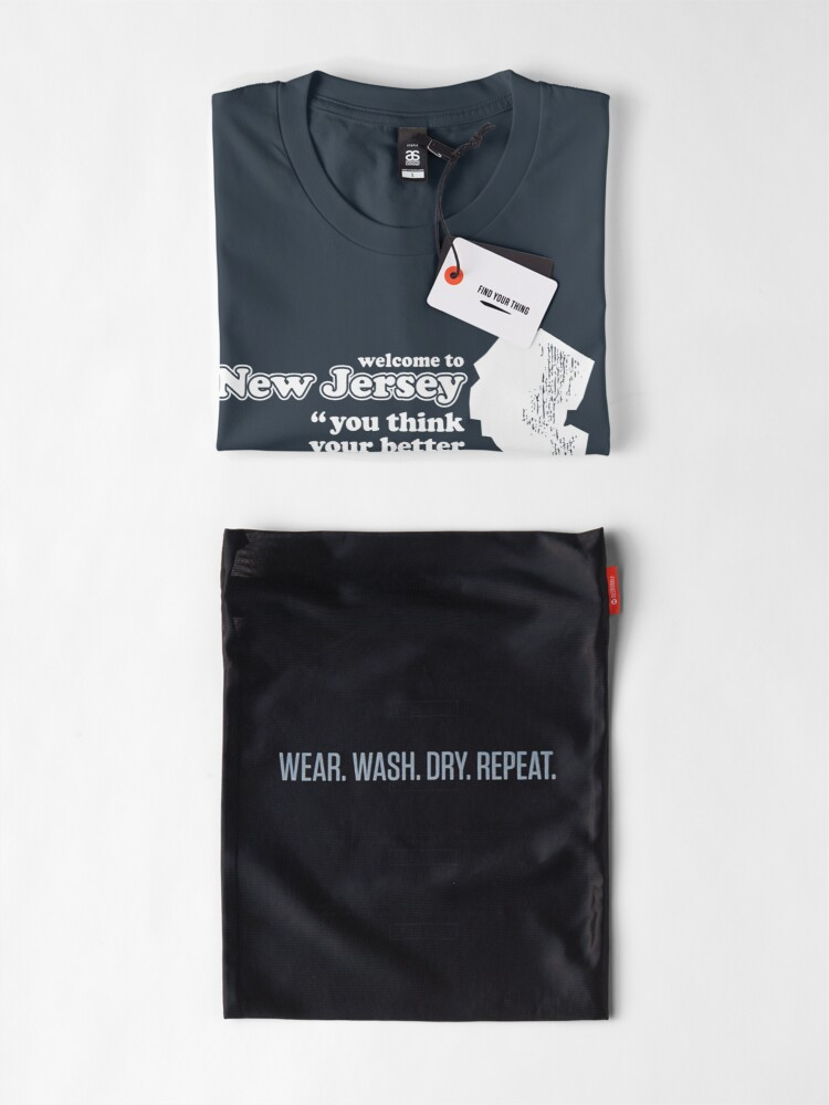 Alternate view of WELCOME TO NEW JERSEY Premium T-Shirt